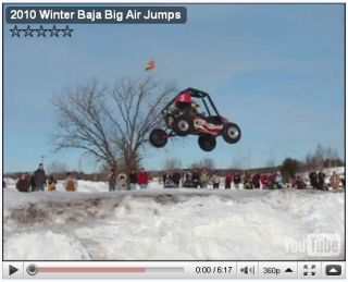Winter Baja at Michigan Tech