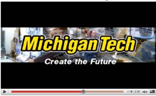 Michigan Tech debut video at the 2010 North American International Auto Show