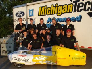 Students Break 1,000 mpg in SAE Supermileage Competition